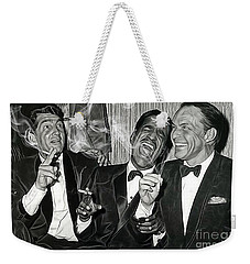 The Rat Pack Collection Weekender Tote Bag