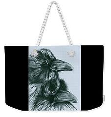 The Ravens Of Odin Weekender Tote Bag