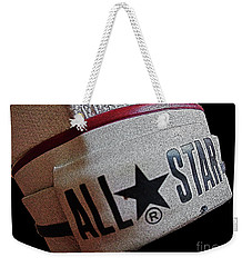 The Converse All Star Rear Label. Weekender Tote Bag by Don Pedro De Gracia