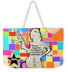 The Rebel Weekender Tote Bag