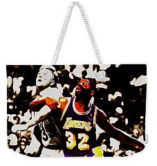 The Rebound Weekender Tote Bag by Brian Reaves