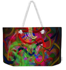 Weekender Tote Bag featuring the painting The Recipe by Kevin Caudill