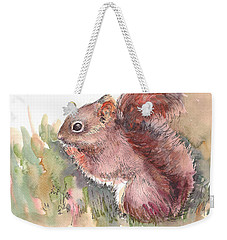The Red Aqurrel Weekender Tote Bag