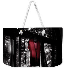The Red Blouse Weekender Tote Bag