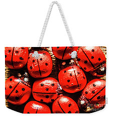The Red Bug Out  Weekender Tote Bag