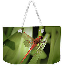 The Red Dragonfly Nbr.1 Weekender Tote Bag