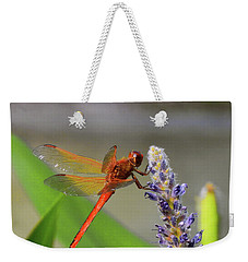 The Red Dragonfly Nbr.2 Weekender Tote Bag