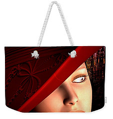 The Red Hat Weekender Tote Bag