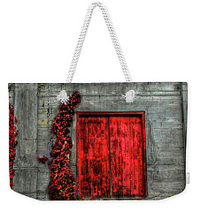 The Red Loft Weekender Tote Bag