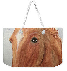 The Red Pony Weekender Tote Bag