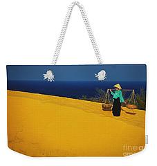 The Red San Dunes Of Mui Ne Vietnam Weekender Tote Bag