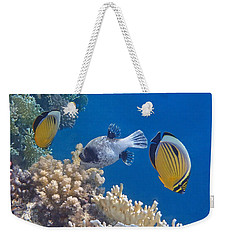 The Red Sea Underwater World Weekender Tote Bag