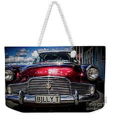 The Red Zephyr Weekender Tote Bag