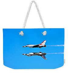 The Reflection Pass Weekender Tote Bag