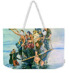 The Refugees Seek The Shore Weekender Tote Bag