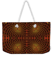 The Relevance Of Spinning Weekender Tote Bag