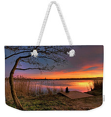 The Remains Of The Day Weekender Tote Bag by Nadia Sanowar