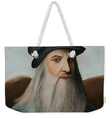 The Master Of Renaissance - Leonardo Da Vinci  Weekender Tote Bag