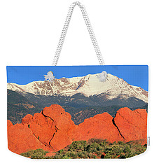 The Result Of Igneous Activity Eons Ago Weekender Tote Bag by Bijan Pirnia