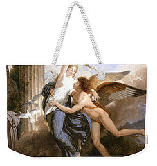 The Reunion Of Cupid And Psyche Weekender Tote Bag by Jean Pierre Saint-Ours