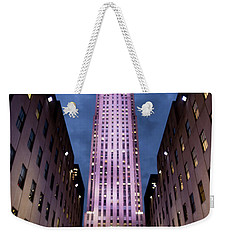 Weekender Tote Bag featuring the photograph The Right Light by Lora Lee Chapman