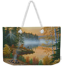 The Rising Sun Weekender Tote Bag