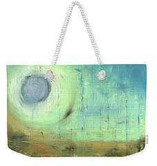 Weekender Tote Bag featuring the painting The Rising Sun by Michal Mitak Mahgerefteh