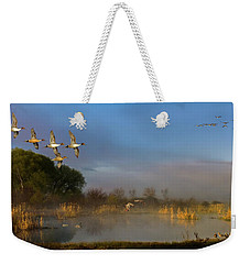 The River Bottoms Weekender Tote Bag