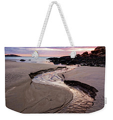 The River Good Harbor Beach Weekender Tote Bag