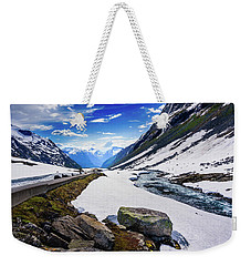 The Road And The Stream Weekender Tote Bag