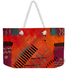 The Road Between Us Weekender Tote Bag by Angela L Walker