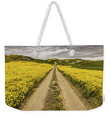 The Road Less Pollenated Weekender Tote Bag