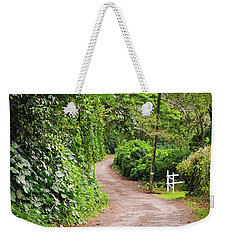 The Road Less Traveled-waipio Valley Hawaii Weekender Tote Bag