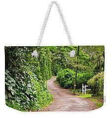 The Road Less Traveled-waipio Valley Hawaii Weekender Tote Bag
