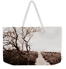 The Road Less Traveled Weekender Tote Bag by Nature Macabre Photography