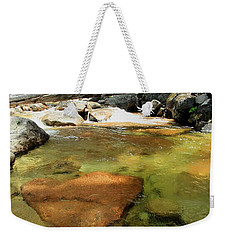 The Road Less Travelled  Portrait Weekender Tote Bag