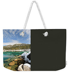 Weekender Tote Bag featuring the photograph The Road Less Traveled by Sean Sarsfield