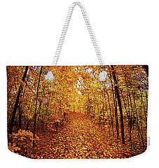 The Road Never Traveled Weekender Tote Bag by Phil Koch