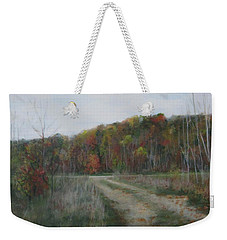 The Road To Autumn Weekender Tote Bag