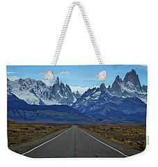 The Road To El Chalten - Argentina Weekender Tote Bag by Stuart Litoff