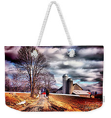 The Road To Farmville Weekender Tote Bag