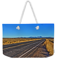 The Road To Flagstaff Weekender Tote Bag