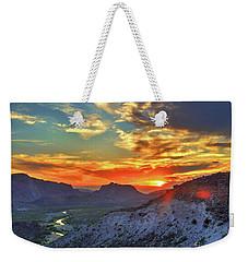 The Road To Presidio Weekender Tote Bag