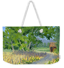 The Road To The Back Field Weekender Tote Bag