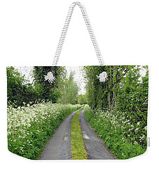 The Road To The Wood Weekender Tote Bag by Ethna Gillespie