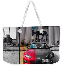 The #roadtrip Was Definitely Better Weekender Tote Bag