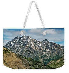 The Rock At Mount Stuart Weekender Tote Bag