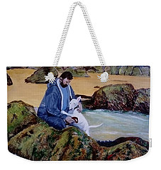 The Rock Pool - Painting Weekender Tote Bag