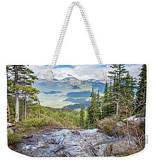 The Rockies Weekender Tote Bag
