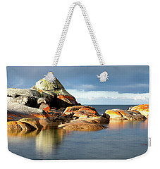 The Rocks And The Water Weekender Tote Bag